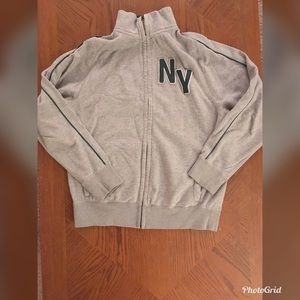 Old Navy Gray NY Zip Sweatshirt